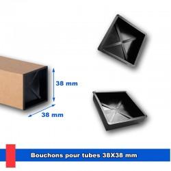 Bouchons noirs pour tubes...